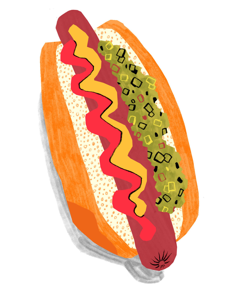 Drew Bardana - Hot Dog