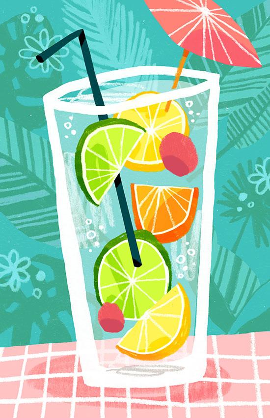 Jungle Juice  Self-Directed Illustration