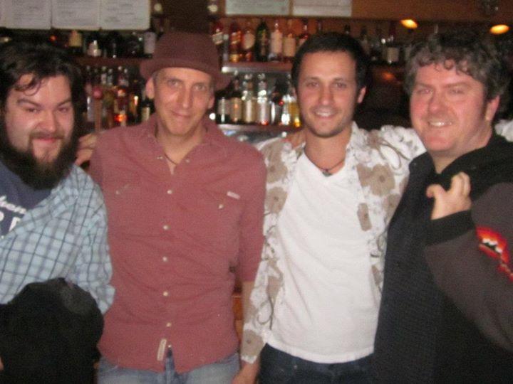 Tim, Josh, Jamie & Danny In Austin.