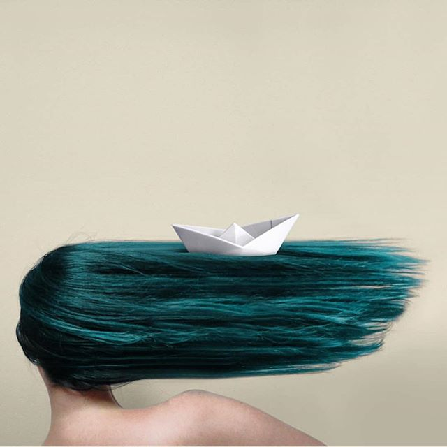 I can't change the direction of the wind, but I can adjust my sails to always reach my destination. - Jimmy Dean  #sail #wind #boat #origami #waves #art #saveourseas #protectwhatyoulove #blue