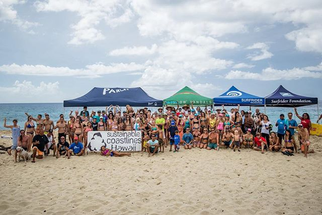 Hats off to some of the most dedicated coastal stewards we are glad to call friends!  For the 30th anniversary International Coastal Cleanup Day, @sustainablecoastlineshawaii @surfrideroahu @nakamakai  teamed up to remove thousands of pounds of trash at Makua and beyond!  Your daily consumption choices have a direct impact on the health of our coastlines and oceans. Think twice before you buy and try to leave no trace.  #cleanyobeach #sustainablecoastlines #oahu #hawaii #surfrider #coastalliving #malamaaina #maukatomakai #luckywelivehawaii #aloha #consumerism #rethink #protectwhatyoulove 📷 found via @sustainablecoastlineshawaii