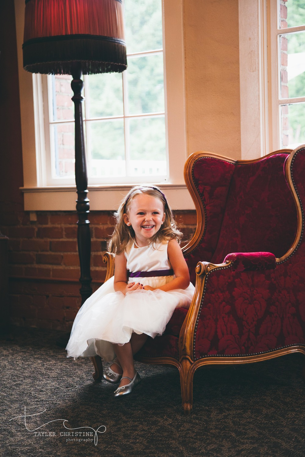 Isn't this flower girl just the most precious thing you have ever seen!?