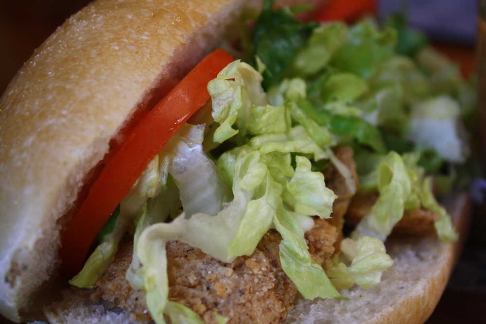 Fried Fish Po'Boy
