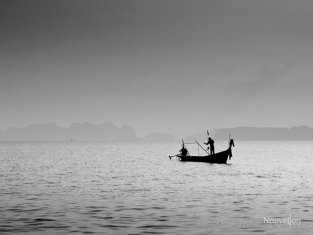 Long tail fishing boat, Thailand