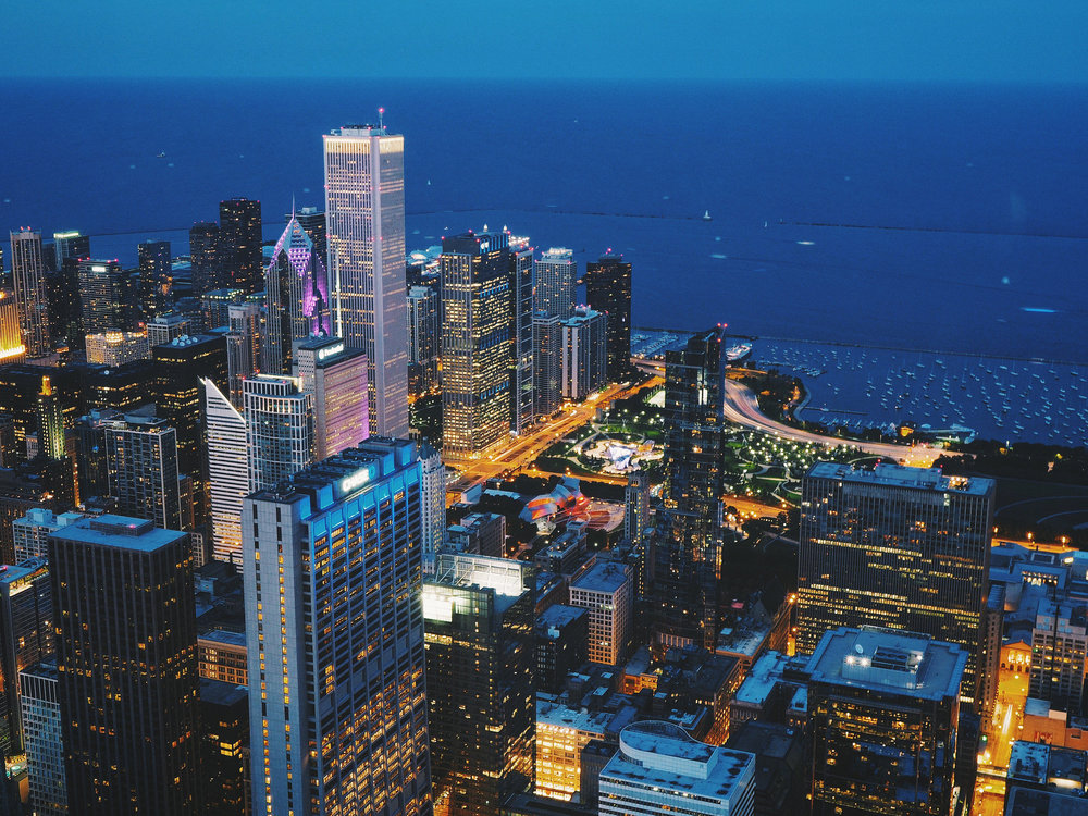 View from above, Chicago