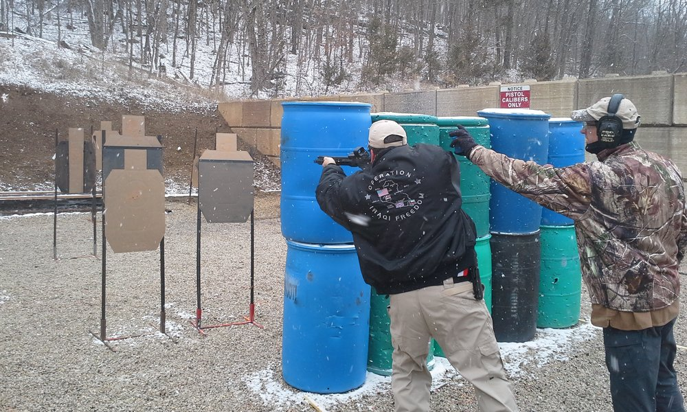 FIRST TIME WE HAD PISTOL CALIBER CARBINE IN A MONTHLY MATCH   ( MARCH 2017  ARPC-IDPA)