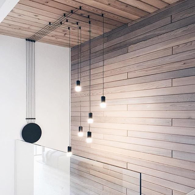 Light Inspiration | So in love with this stunning stairway design by @gaileguevara & lighting by @observelight | #lightinspiration #lightingdesign #vibialight #interiordesign #contemporaryinteriors #vancouverinteriors #gaileguevara