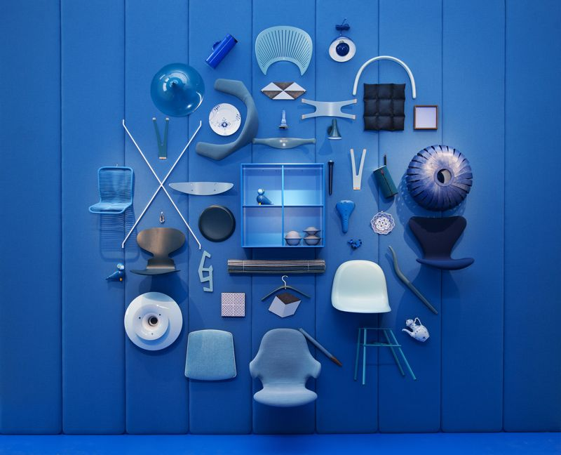 A scene from the   Danish Chromatism   installation at the Triennale Design Museum. It was curated by Signe Byrdal Terenziani and designed by young Danish/Italian design studio, GamFratesi.