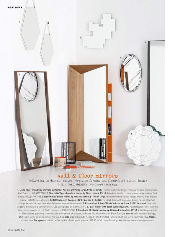 Best Buys: Mirrors