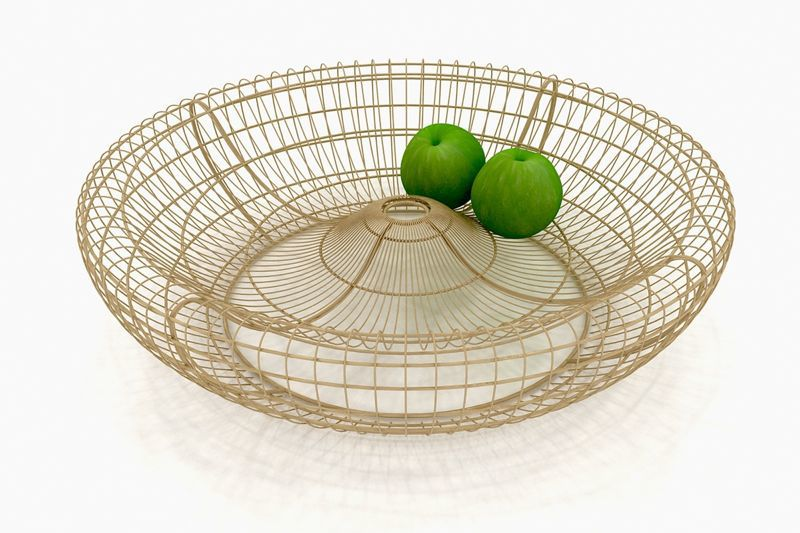 Australian designer, Dennis Abalos' 'Woven' fruit bowl.