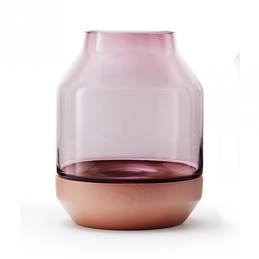 'Elevated' vase in pink.
