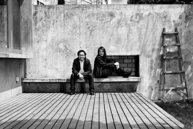 Lyndon Neri and Rossana Hu. Photograph by Andrew Rowat.