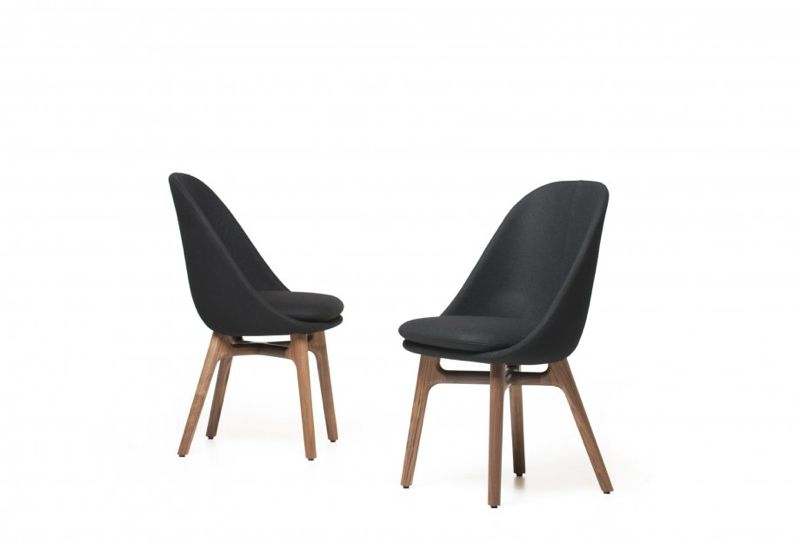 The Neri & Hu designed 'Solo' chair produced by De La Espada. Also in an armchair version.