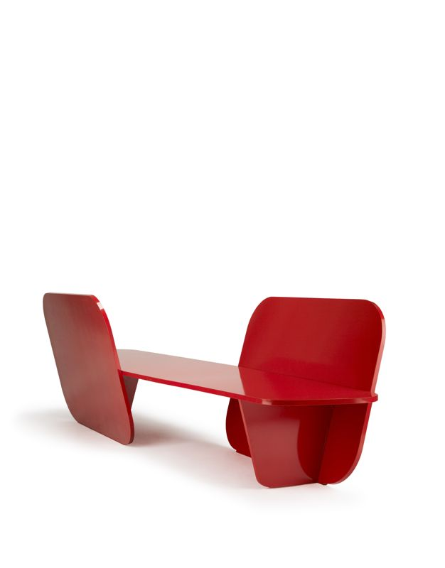 The 'Earhart' bench by Luca NIchetto for La Chance.