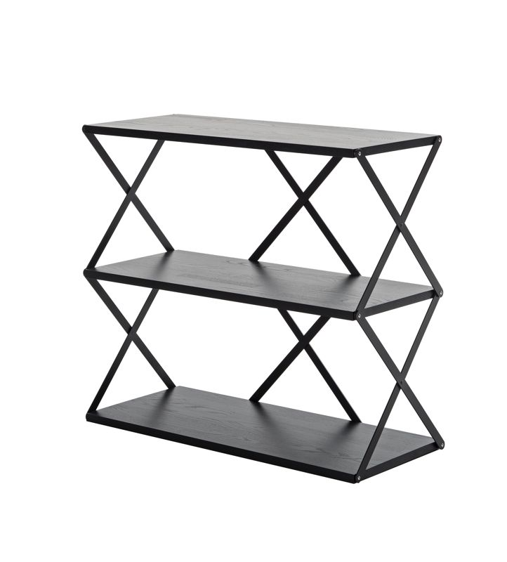 The 'Lift' shelving by Swedish designer, Staffan Holm for One Nordic Furniture Company is a perfect example of creating a beautiful design within the constraints of small shipping volumes. The design folds down to a compact box and was inspired by industrial scissor lifts found in factories and warehouses.