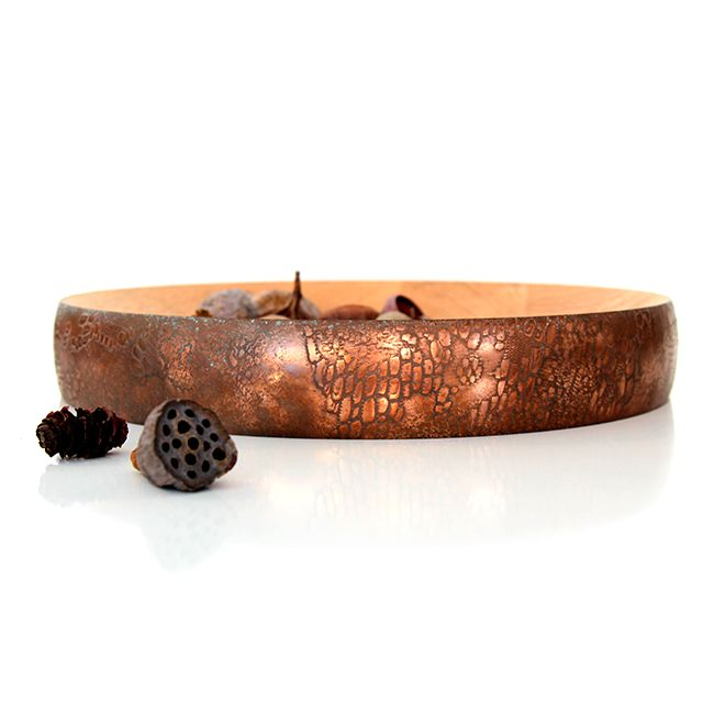 Ben Wahrlich's 'Kodiak' bowl in a copper 'Cayman' finish.
