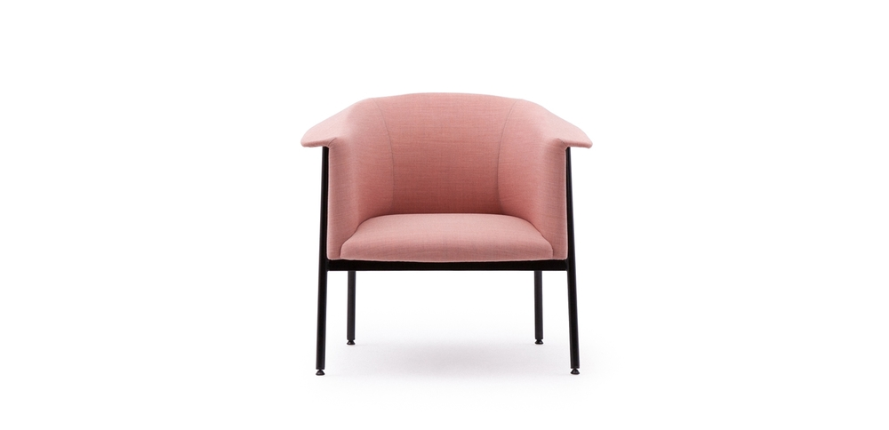 'Kavai' chair by Hallgeir Homstvedt  for LK Hjelle - front view.