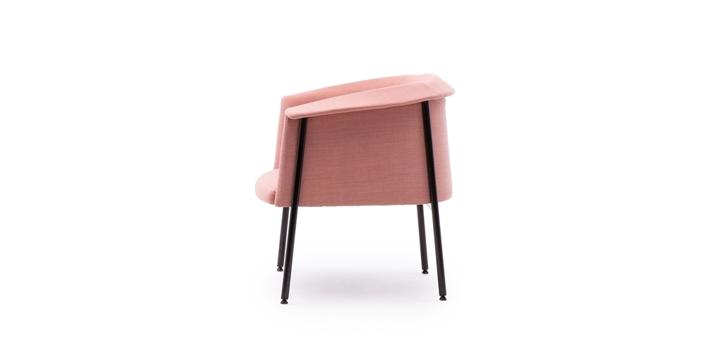 'Kavai' chair by Hallgeir Homstvedt for LK Hjelle - side view.