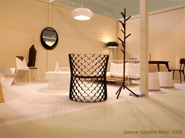 Lim's application for a booth at Salone Satellite in 2009 was accepted and he filled it with new work. Five of the fourteen pieces shown are now in production.