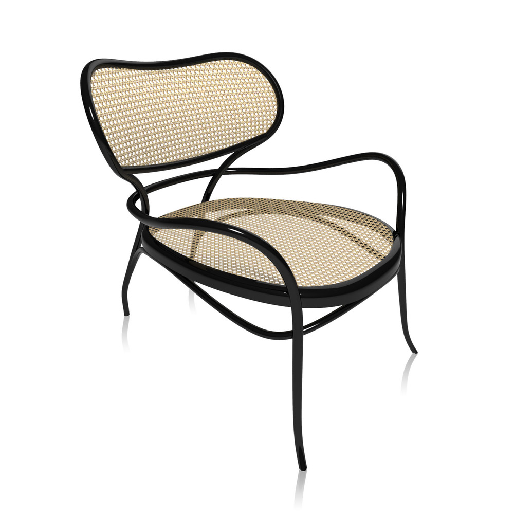 The 'Lehnstuhl' by Nigel Coates for Gebrüder Thonet. Not surprisingly Gebrüder Thonet do bent wood better than anyone.They invented it after all.
