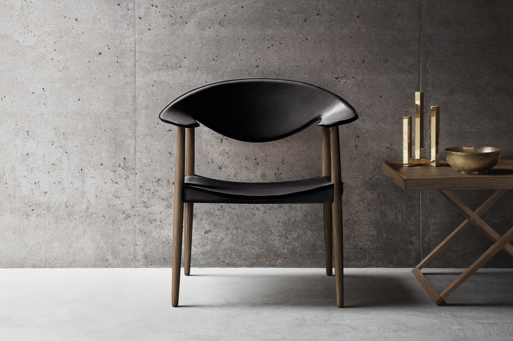 Ejner Larsen and Aksel Bender Madsen's 'Metropolitan' chair from 1949, now reissued by Carl Hansen & Son.