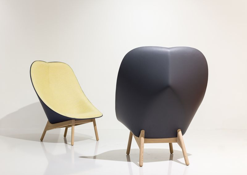 Doshi Levien's new 'Uchiwa' chair commissioned by Hay offers a lot of chair for the price.