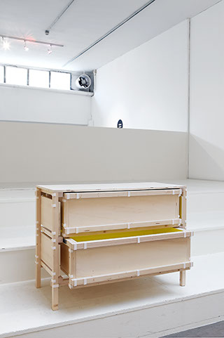 The 'Inside Out Furniture' chest of drawers by Minale Maeda.