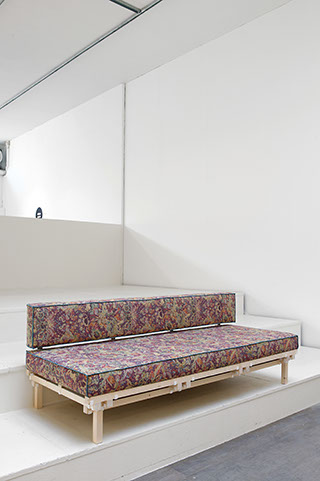 The sofa form from the 'Inside Out Furniture' collection by Minale Maeda.