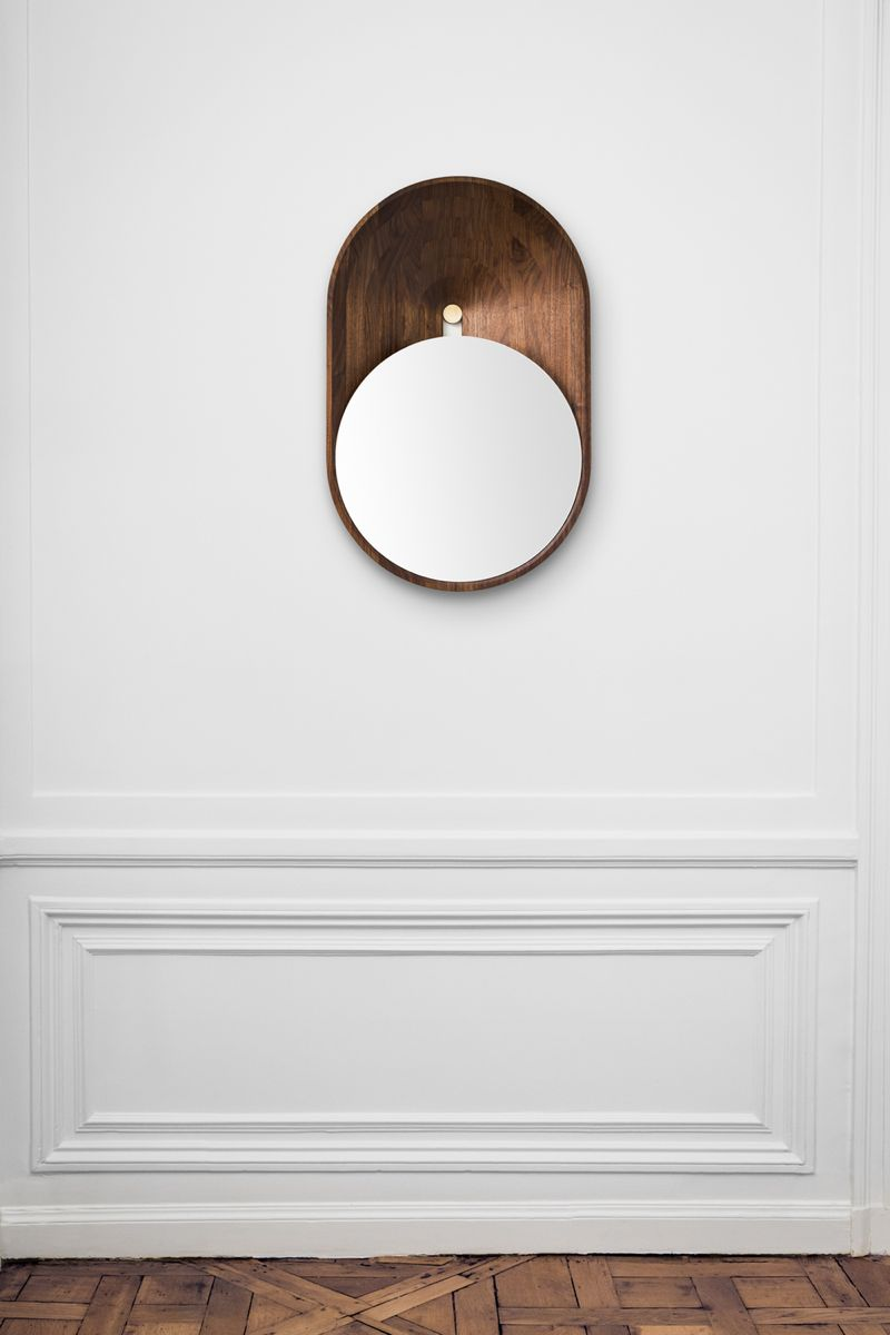 Grégoire de Lafforest's 'Mono' mirror is as much artwork as functional object.
