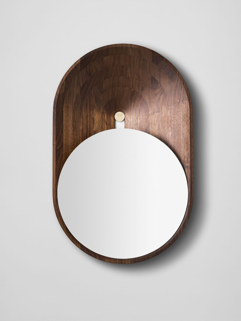 De Lafforest's 'Mono' mirror - can be seen as a composition of a circle in an oval.