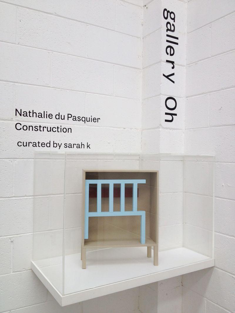 Nathalie du Pasquier's 'Construction'