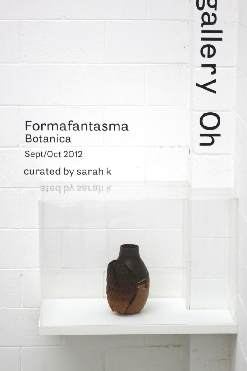 Formafantasma vessel from their Botanica project.