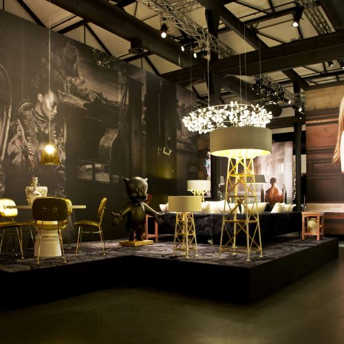 Moooi's 2013 Milan show 'Unexpected welcome' was the most talked about event of the fair. Photograph by Valentina Zanobelli.