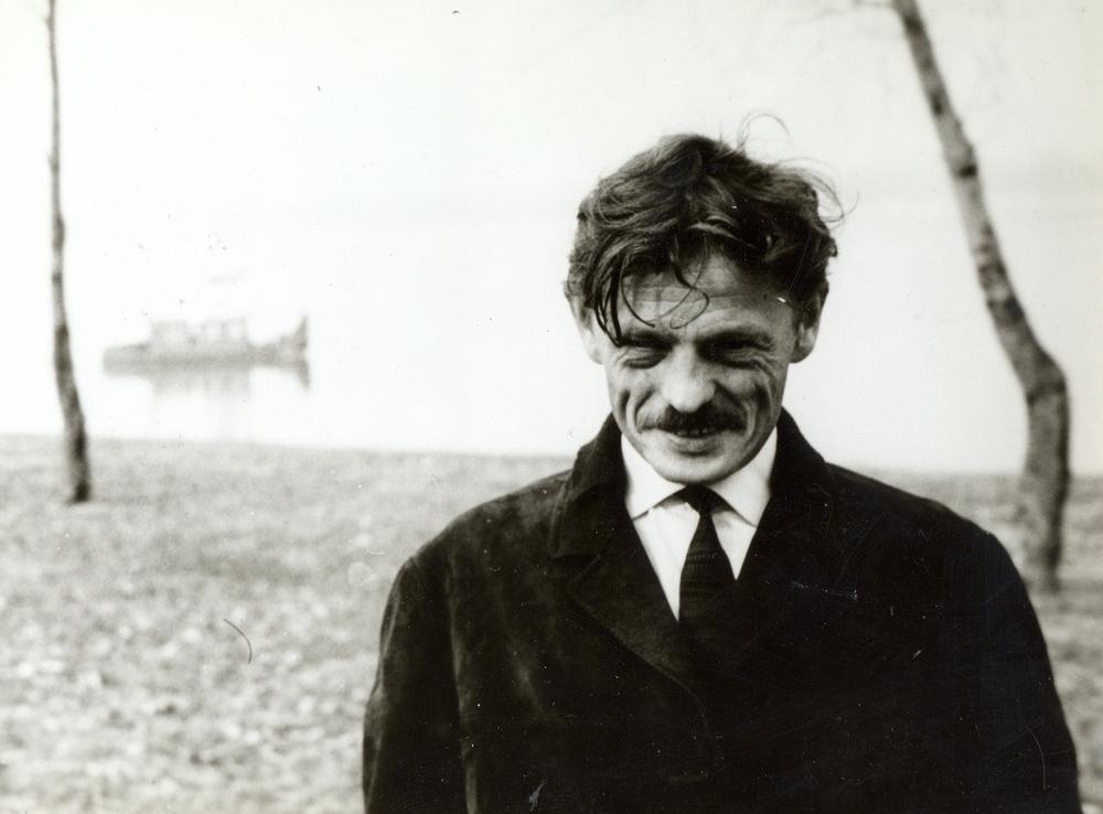 Niko Kralj as a young man.