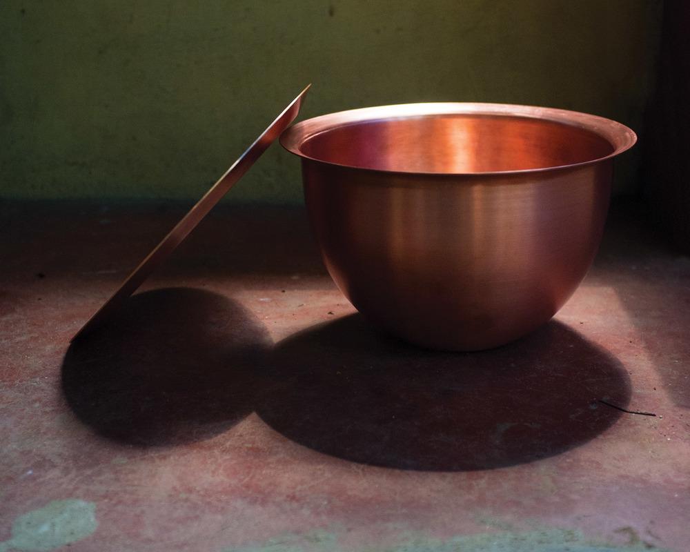 Tiipoi's 'Loha' spun copper mixing bowl.