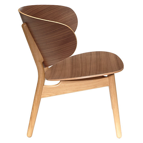 Side view of Wegner's 1948 classic the Shell chair (FH1936). John Lewis now call it the 'Venus' chair for some reason.