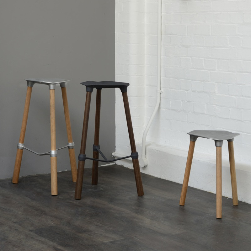 Sam Lloyd's 'Cast' stools were one of four finalists in  Heal's Discovers  for 2014.