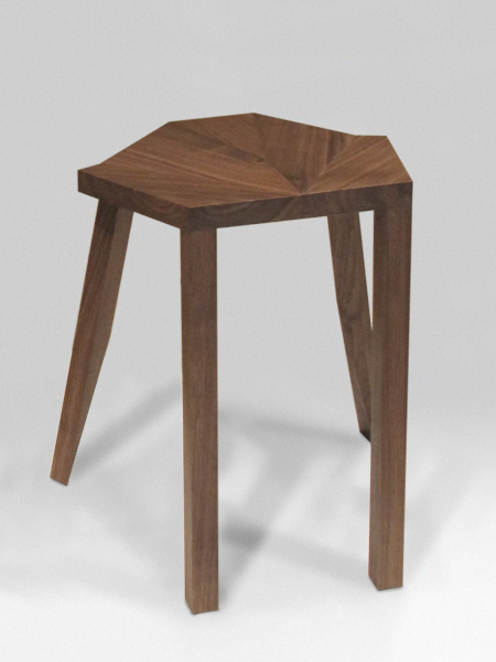 The 'Josephine Baker Stool' by Tino Seubert.