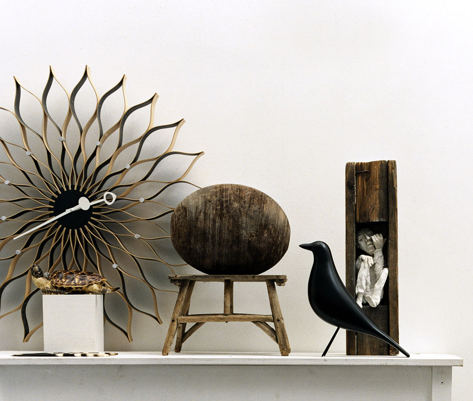 The real deal. Vitra's Eames House Bird looking as simple and beautiful as ever.