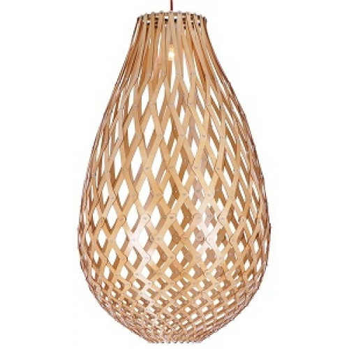 A replica of Trubridge's 'Koura' light from Fiorentino Lighting called 'Kanis', sold online through Wayfare Australia.