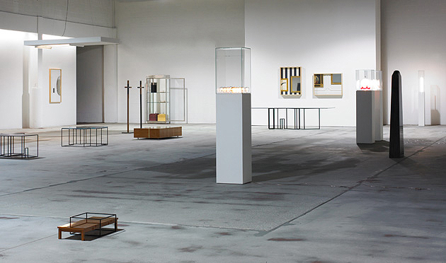 The Wright Auctions (Chicago) exhibition of Gilad's work in 2009 entitled ; Spaces etc / An exercise in Utility.