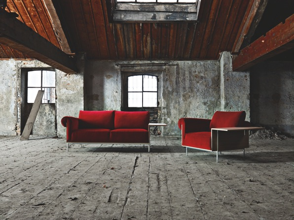 Gilad's most recent offering for Molteni & C is his 'Controra' sofa and armchair launched during Salone del Mobile 2014.