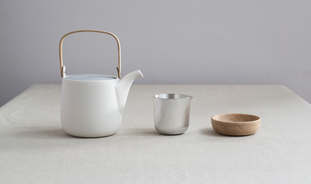 Sue Pryke's MRr& Mrs Collection has recently been added to with accessories in hand-spun pewter and turned timber.