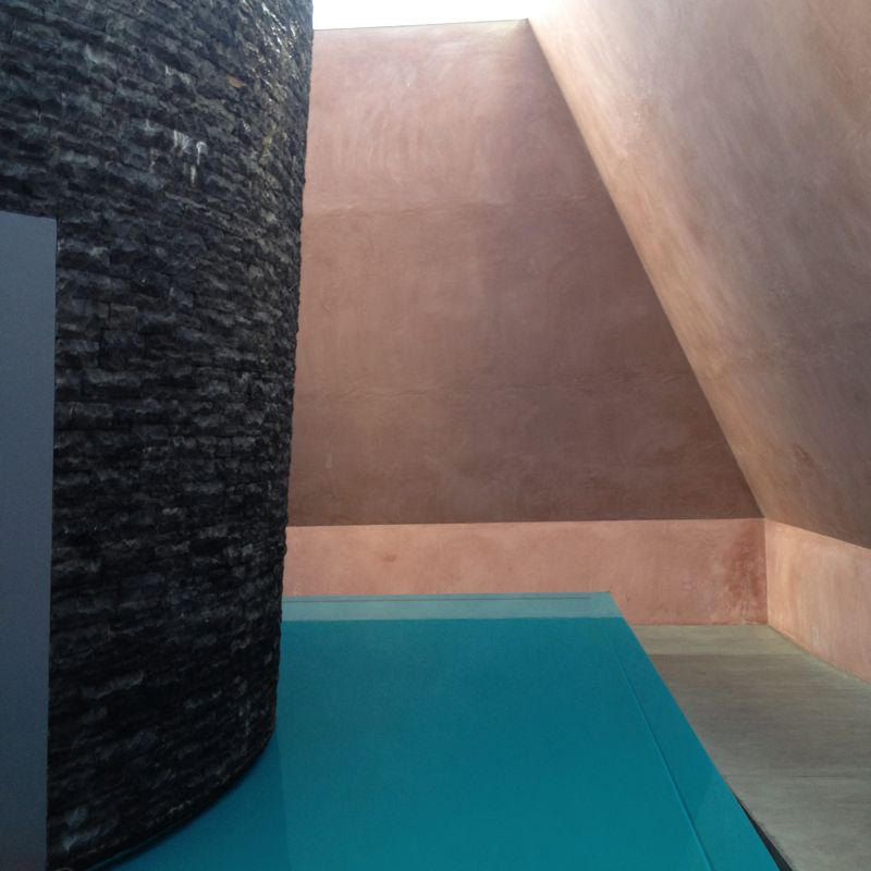 James Turrell's 'Within Without' installation purchased by the National Gallery of Australia in 2010.  Photo by Karen McCartney