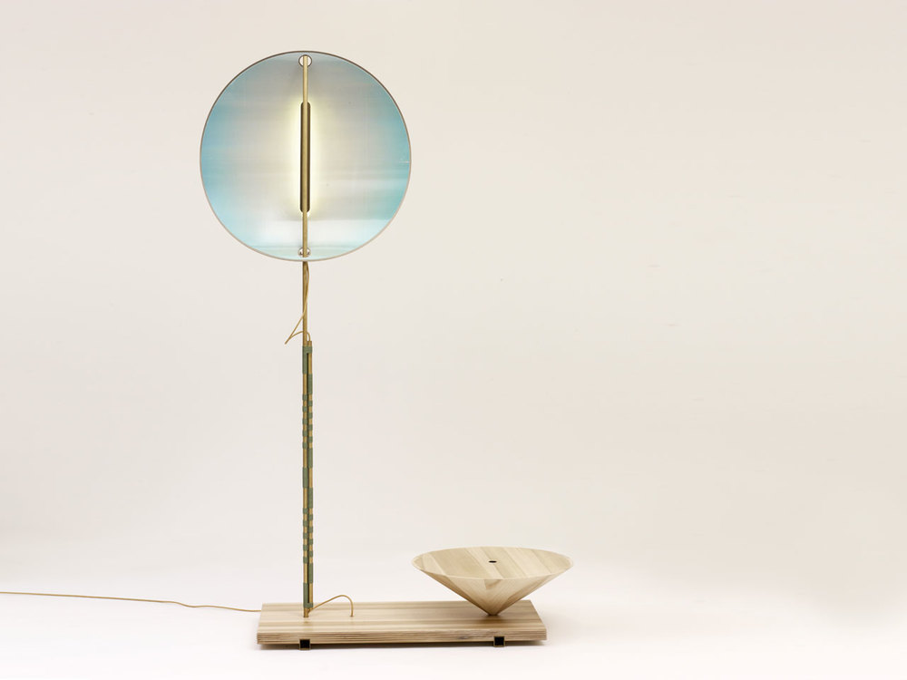 'Makoto' lamp by Studio Wieki Somers for Galerie Kreo.