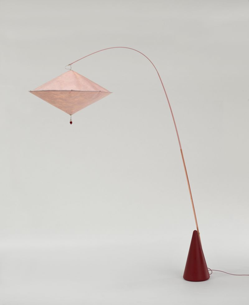 The 'Aoyama' lamp by Wieki Somers for Galerie Kreo (2014).