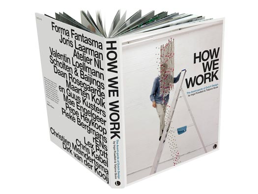 The cover of the How We Work book by Inga Powilleit and Tatjana Quax, published by Lecturis.