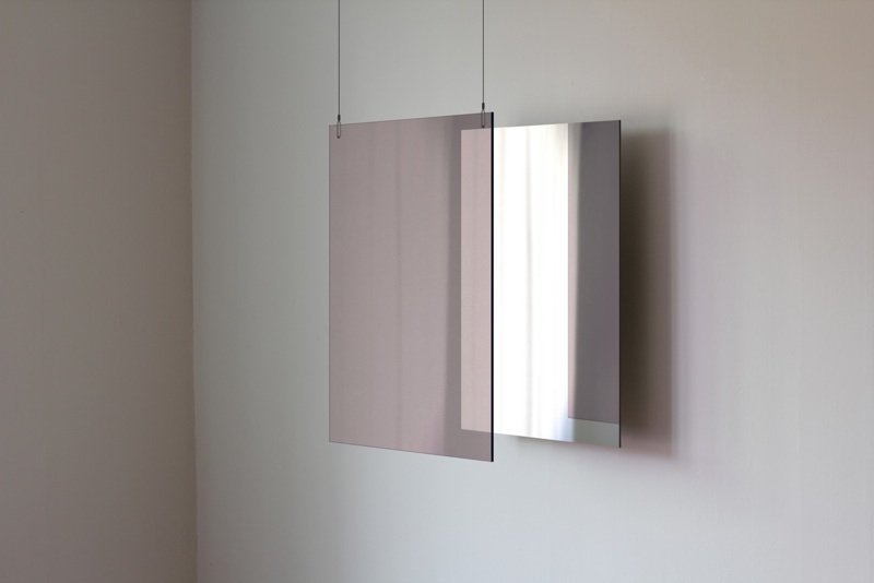'Tinted Mirror' - one of several forays into alternative approaches to mirrored surfaces.