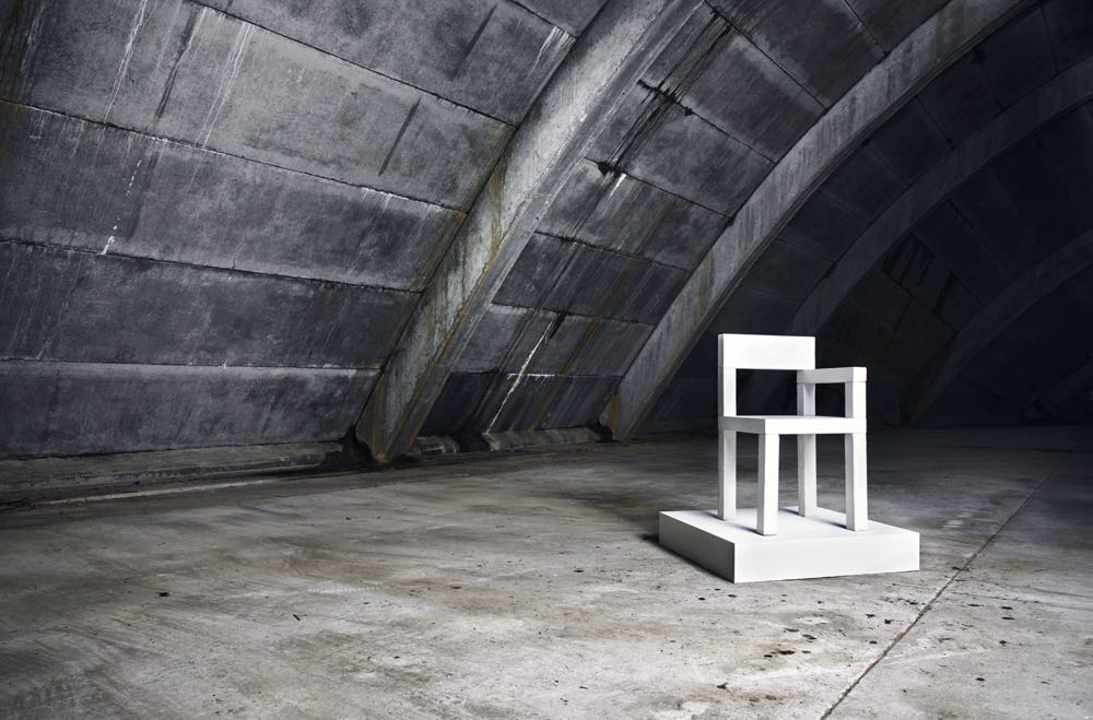 The 'Untitled Concrete Chair' by Magnus Pettersen. Simple, graphic and timeless.