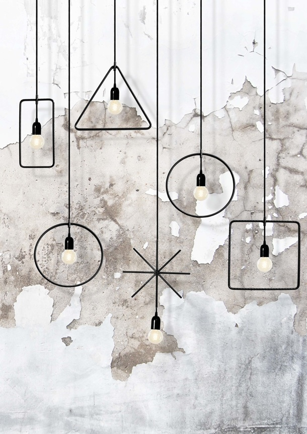 Bernardi showed these graphic lights at Ventura Lambrate in 2014.
